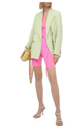Женские шорты HELMUT LANG розового цвета, арт. K10HW202 | Фото 2