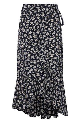 Женская юбка из вискозы POLO RALPH LAUREN черно-белого цвета, арт. 211827799 | Фото 1