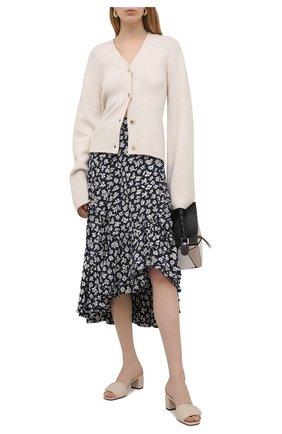 Женская юбка из вискозы POLO RALPH LAUREN черно-белого цвета, арт. 211827799 | Фото 2