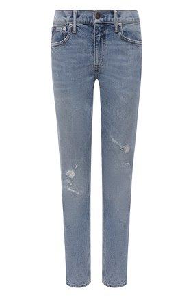 Женские джинсы POLO RALPH LAUREN голубого цвета, арт. 211825829 | Фото 1