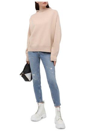 Женские джинсы POLO RALPH LAUREN голубого цвета, арт. 211825829 | Фото 2