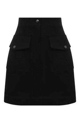 Женская юбка DRIES VAN NOTEN черного цвета, арт. 211-10810-2044 | Фото 1