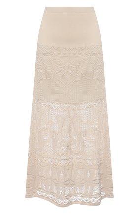 Женская юбка D.EXTERIOR светло-бежевого цвета, арт. 52342 | Фото 1