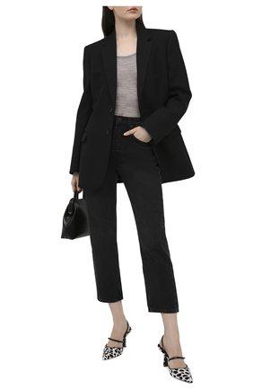 Женский шерстяной пуловер NANUSHKA серого цвета, арт. BETH_LIGHT GREY_SUPER FINE MERIN0 KNIT | Фото 2