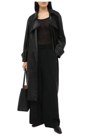 Женский шерстяной пуловер NANUSHKA черного цвета, арт. BETH_BLACK_SUPER FINE MERIN0 KNIT | Фото 2