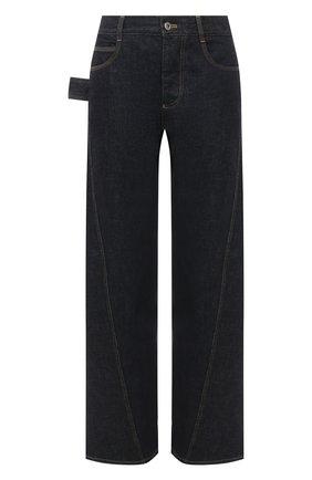 Женские джинсы BOTTEGA VENETA темно-синего цвета, арт. 646641/V08Y0 | Фото 1