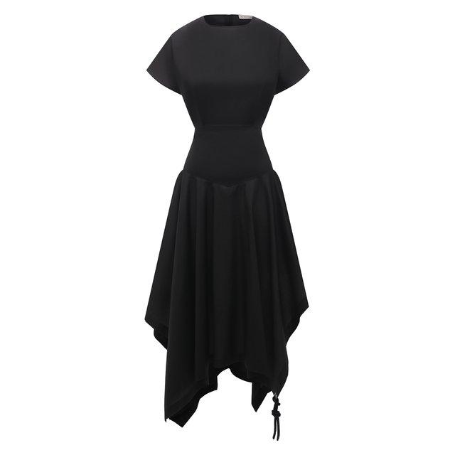 Хлопковое платье 1 Moncler JW Anderson Moncler Genius