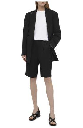 Женские комбинированные босоножки PREMIATA черного цвета, арт. M5792/VITELL0 | Фото 2