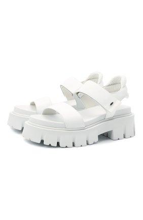 Женские комбинированные сандалии PREMIATA белого цвета, арт. M6067/GAUCH0 | Фото 1
