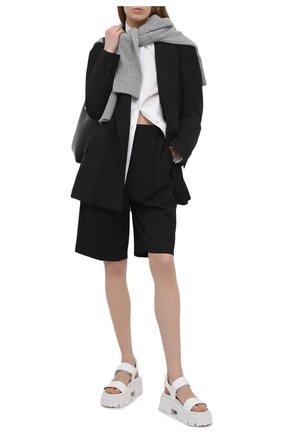 Женские комбинированные сандалии PREMIATA белого цвета, арт. M6067/GAUCH0 | Фото 2