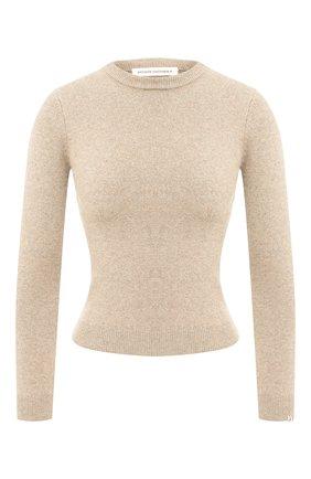 Женский кашемировый пуловер EXTREME CASHMERE бежевого цвета, арт. 098/KID | Фото 1