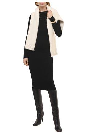 Женское платье из вискозы ALICE + OLIVIA черного цвета, арт. CL000526702 | Фото 2