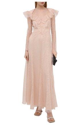 Женское платье PHILOSOPHY DI LORENZO SERAFINI розового цвета, арт. A0425/717 | Фото 2