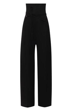 Женские брюки JACQUEMUS черного цвета, арт. 211PA05/103990 | Фото 1