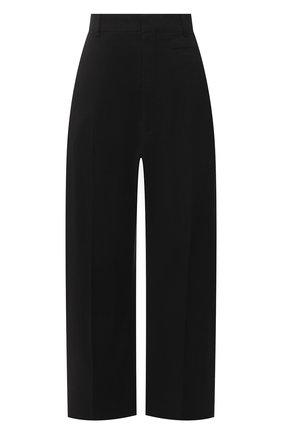 Женские брюки JACQUEMUS черного цвета, арт. 211PA02/103990 | Фото 1