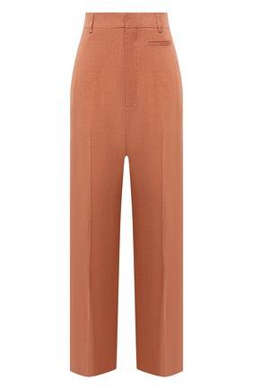 Женские брюки JACQUEMUS оранжевого цвета, арт. 211PA02/103840 | Фото 1