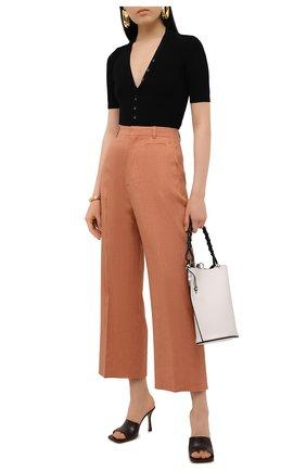 Женские брюки JACQUEMUS оранжевого цвета, арт. 211PA02/103840 | Фото 2