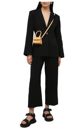 Женский жакет JACQUEMUS черного цвета, арт. 211JA02/103990 | Фото 2