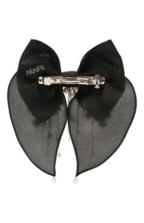 Женская бант PANFIL черного цвета, арт. Бант 0-X3-Prl | Фото 2