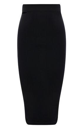 Женская юбка HELMUT LANG черного цвета, арт. K10HW304 | Фото 1