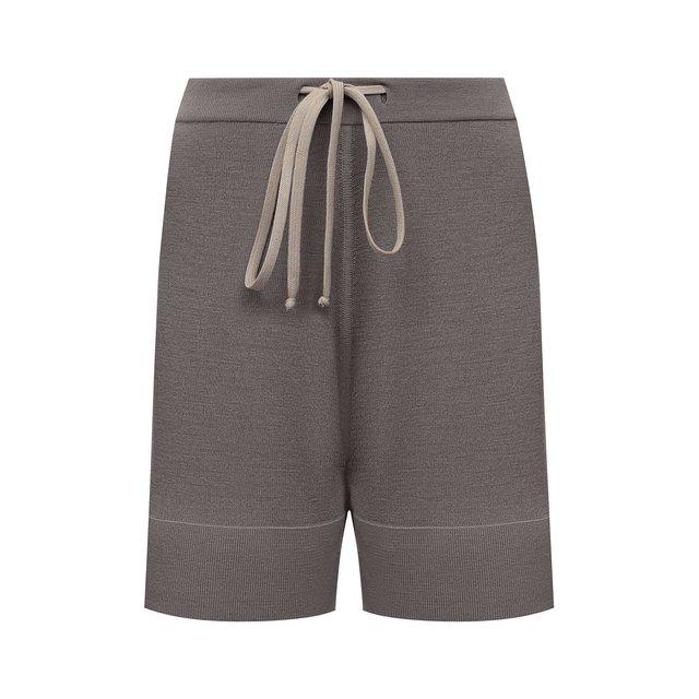 Шерстяные шорты Rick Owens