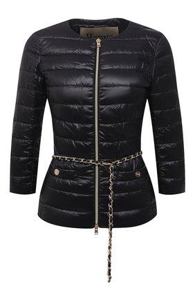 Женская пуховая куртка HERNO черного цвета, арт. PI0004DIC/12017 | Фото 1