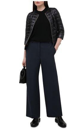Женская пуховая куртка HERNO черного цвета, арт. PI0004DIC/12017 | Фото 2