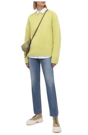 Женские джинсы J BRAND синего цвета, арт. JB003301 | Фото 2
