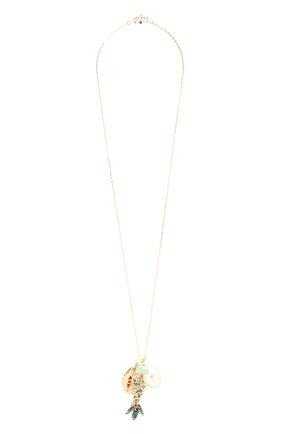 Женская подвеска на цепочке ANTON HEUNIS золотого цвета, арт. SNT1.05   Фото 1