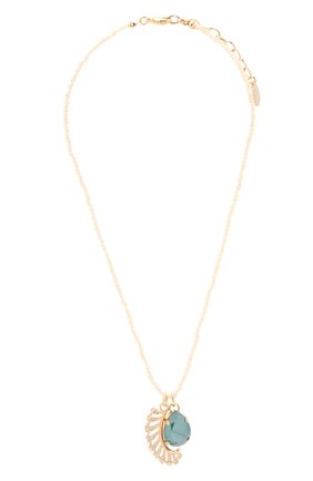 Женская кулон на цепочке ANTON HEUNIS золотого цвета, арт. SNT1.11   Фото 1