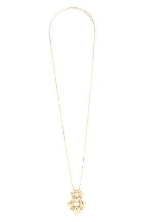 Женская кулон на цепочке ANTON HEUNIS золотого цвета, арт. SNT1.20   Фото 1