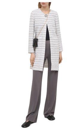Женские брюки D.EXTERIOR серого цвета, арт. 52907 | Фото 2