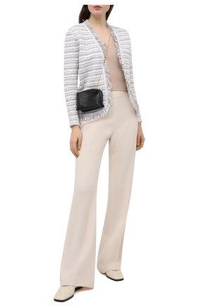 Женский пуловер из вискозы D.EXTERIOR бежевого цвета, арт. 52367   Фото 2