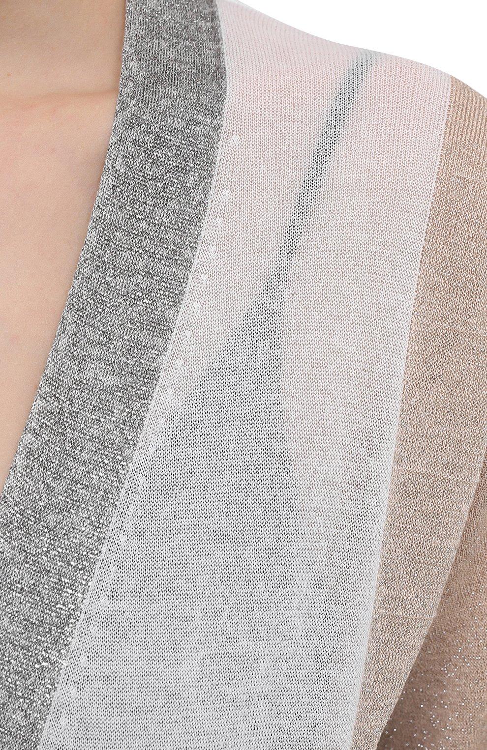 Женский кардиган D.EXTERIOR серого цвета, арт. 52357   Фото 5