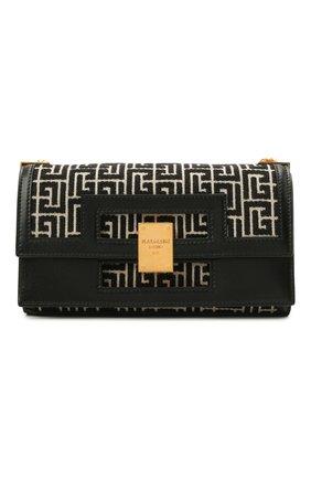 Женская сумка 1945 BALMAIN черно-белого цвета, арт. VN0BK607/TJGH | Фото 1