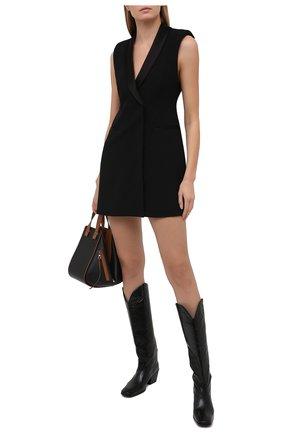 Женское платье ALICE + OLIVIA черного цвета, арт. CL000202505 | Фото 2