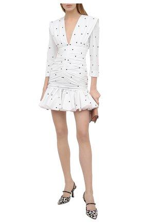 Женское хлопковое платье PHILOSOPHY DI LORENZO SERAFINI белого цвета, арт. A0441/744 | Фото 2