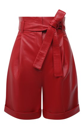 Женские шорты PHILOSOPHY DI LORENZO SERAFINI красного цвета, арт. A0323/740 | Фото 1