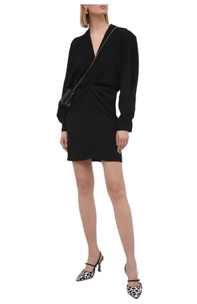 Женское платье IRO черного цвета, арт. WP33JADEN | Фото 2