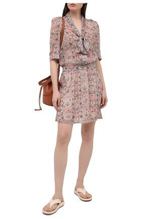 Женское платье ZADIG&VOLTAIRE светло-бежевого цвета, арт. SKCE0401F | Фото 2