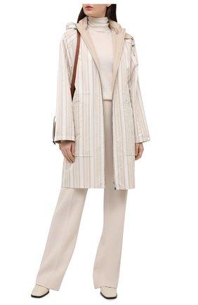 Женская куртка LORO PIANA светло-бежевого цвета, арт. FAL5386 | Фото 2