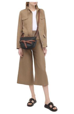 Женская льняная куртка LORO PIANA коричневого цвета, арт. FAF6362 | Фото 2
