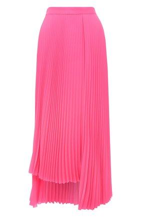 Женская плиссированная юбка BALENCIAGA розового цвета, арт. 625492/TG008 | Фото 1