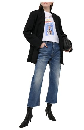 Женские джинсы MM6 синего цвета, арт. S52LA0137/S30589 | Фото 2