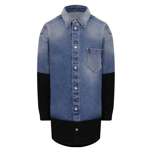 Джинсовая рубашка Mm6