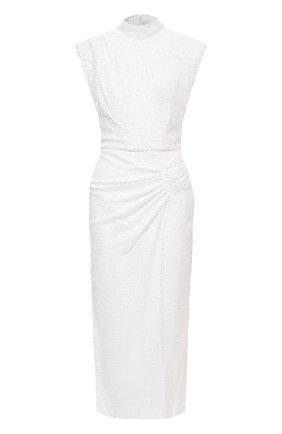 Женское платье с пайетками IN THE MOOD FOR LOVE белого цвета, арт. RHEA DRESS | Фото 1