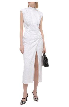 Женское платье с пайетками IN THE MOOD FOR LOVE белого цвета, арт. RHEA DRESS | Фото 2
