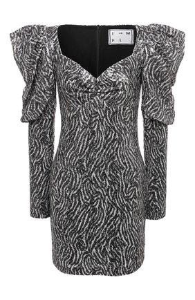 Женское платье с пайетками IN THE MOOD FOR LOVE черно-белого цвета, арт. M0RAG DRESS | Фото 1