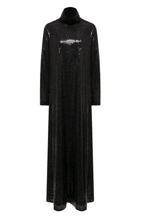 Женское платье с пайетками IN THE MOOD FOR LOVE черного цвета, арт. IS0BEL DRESS | Фото 1