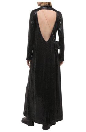 Женское платье с пайетками IN THE MOOD FOR LOVE черного цвета, арт. IS0BEL DRESS | Фото 2